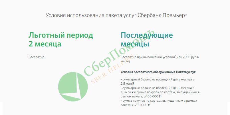 Сбербанк Премьер и особенности сервиса