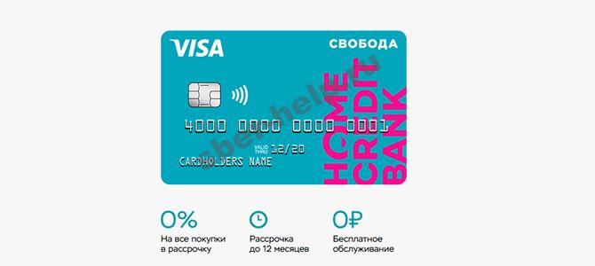 Оформление виртуальной кредитной карты