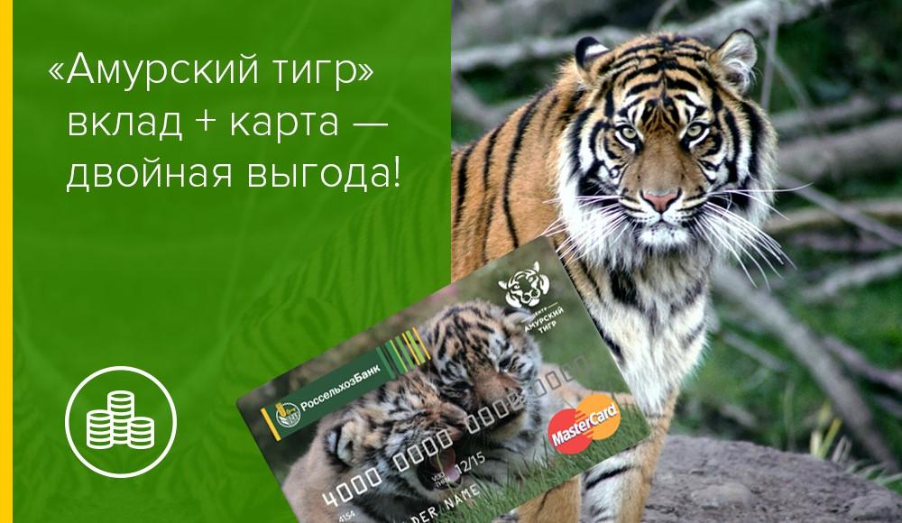 Карта Россельхозбанка «Амурский тигр»: условия пользования